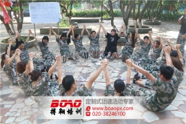 深圳市天洋立信精英团队拓展训练活动顺利完成!